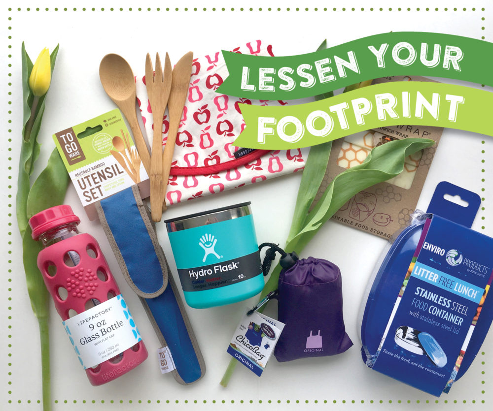 Lessen Your Footprint