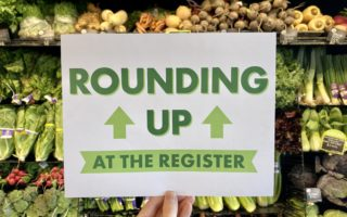 Rounding Up at the Register